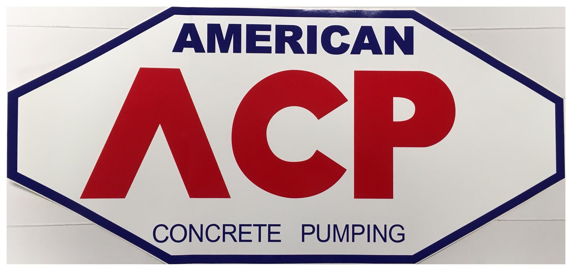 American Concrete Pumping, LLC's logo