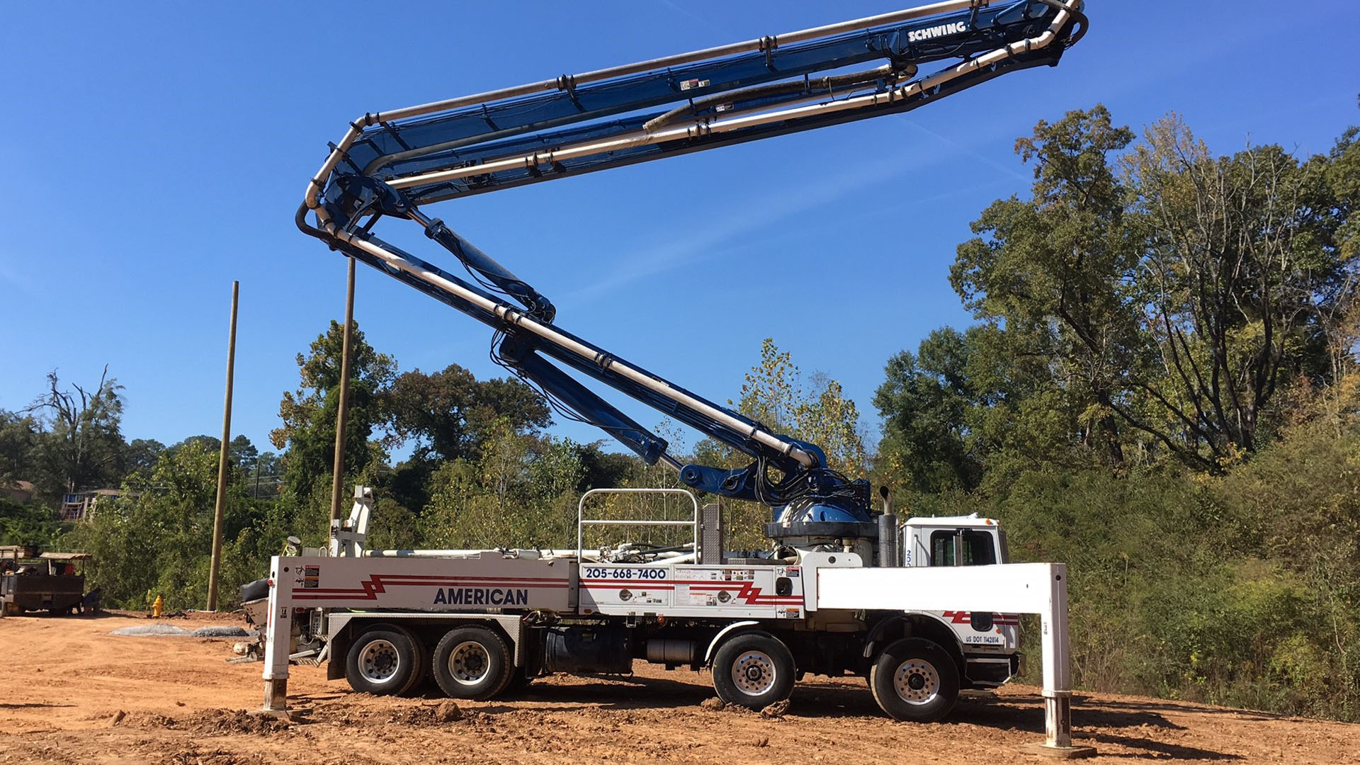American Concrete Pumping, LLC: Concrete Work in Calera